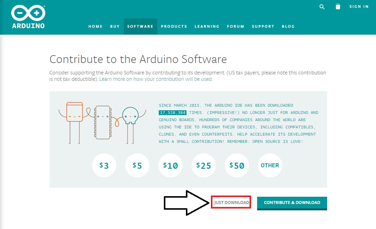Como baixar Arduino IDE