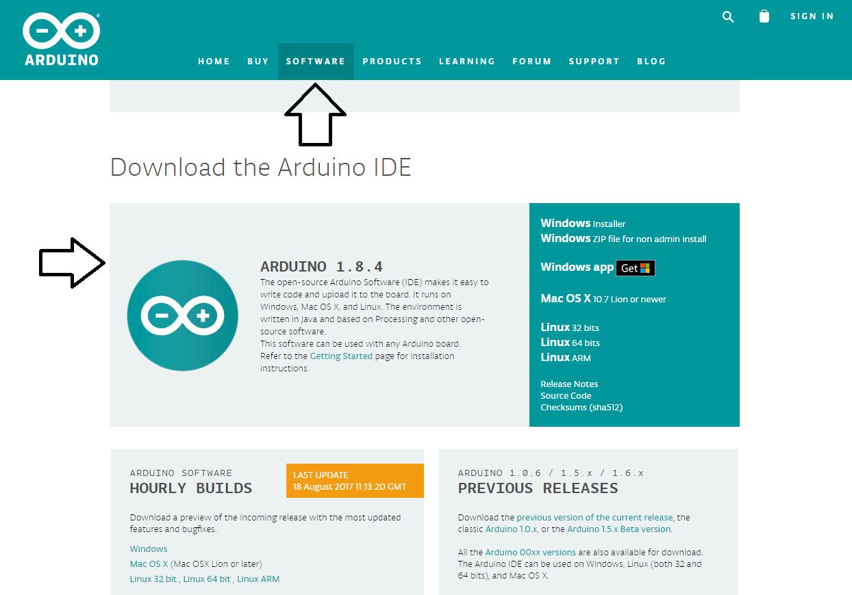 Site Arduino.cc